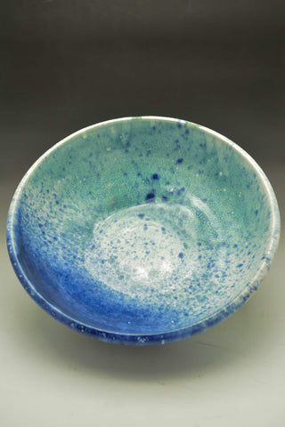 Seascape Hand Thrown Ceramic Big Bowl - Celebrate Local, Shop The Best of Ohio