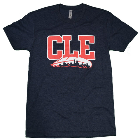 CLE Feathered Skyline T-Shirt - Celebrate Local, Shop The Best of Ohio
