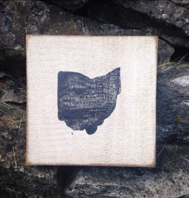 Scrabble Tiles - Wood (Symbols) - Celebrate Local, Shop The Best of Ohio - 1
