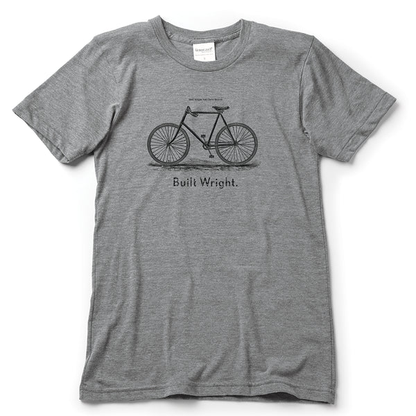 Built Wright Bicycle T-Shirt - Celebrate Local, Shop The Best of Ohio