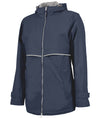 Navy New Englander Rain Jacket