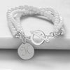 White Elegance Bracelet - Upward Mark - 1