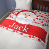 Santa Fleece Blanket - Upward Mark