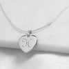 Personalized Heart Necklace - Upward Mark