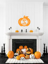 Single Initial Pumpkin Monogram