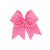 Pink Dots Hair Bow