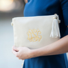 crossbody clutch monogram