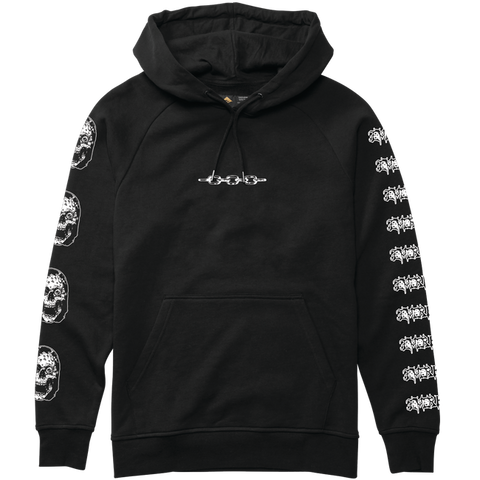 EMERICA FRENCH HOODIE BLACK