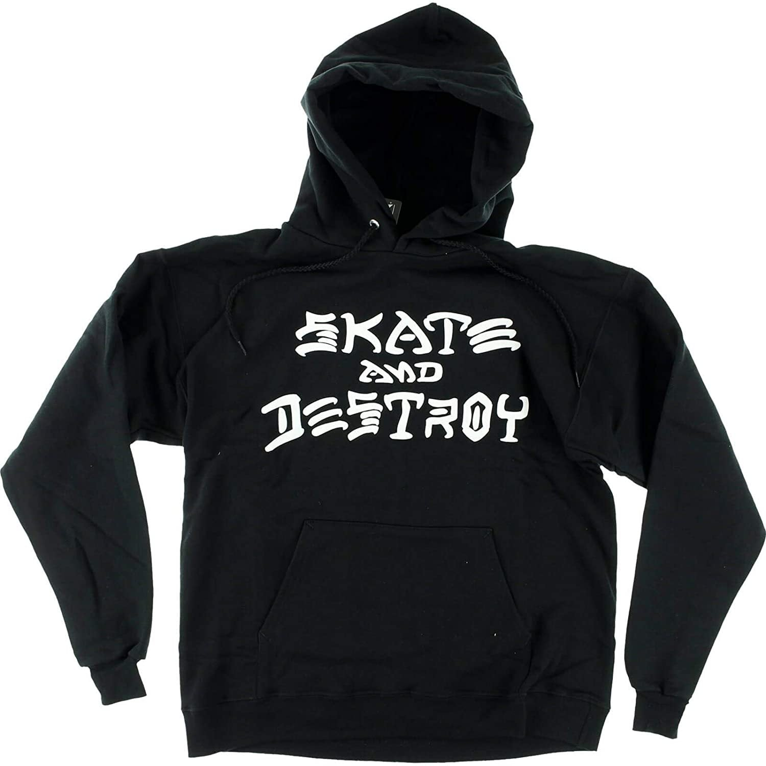 THRASHER - SKATE AND DESTROY HOOD - BLACK