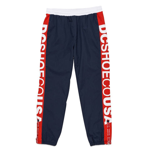 DC - RAI TRACK PANTS - RED/NAVY/WHITE