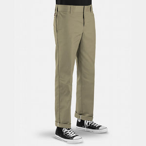 DICKIES - 873 SLIM STRAIGHT FIT PANTS - KHAKI