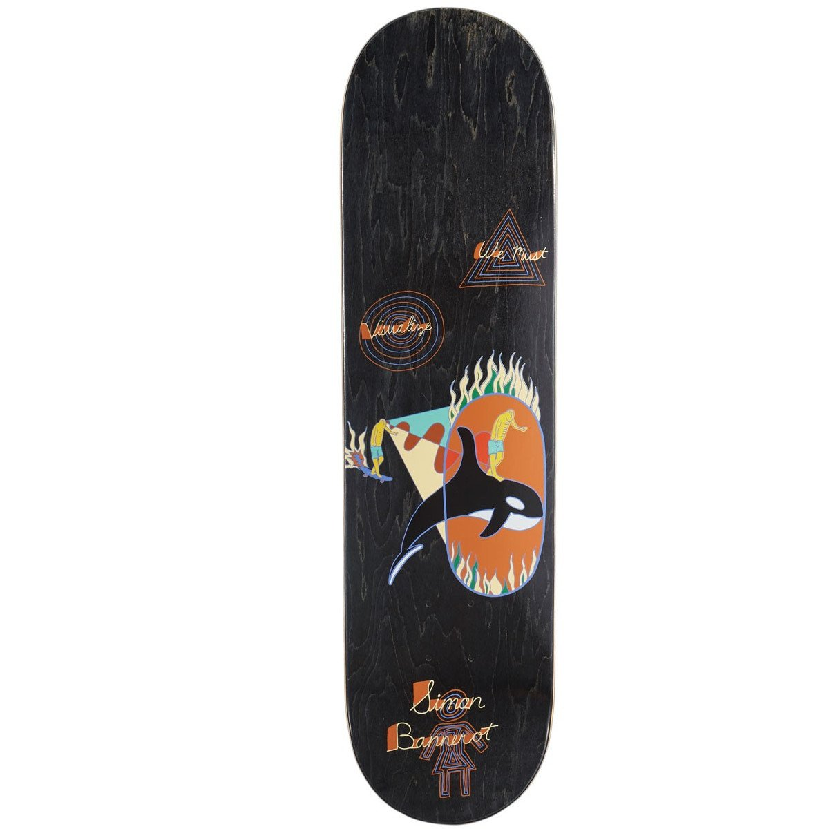GIRL ONE OFFS SIMON BANNEROT DECK 8.5