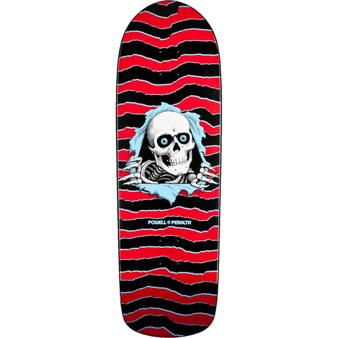 POWELL PERALTA - OLD SCHOOL RIPPER DECK RED - 10""