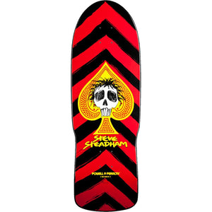 POWELL PERALTA - STEADHAM SPADE DECK RED - 10""