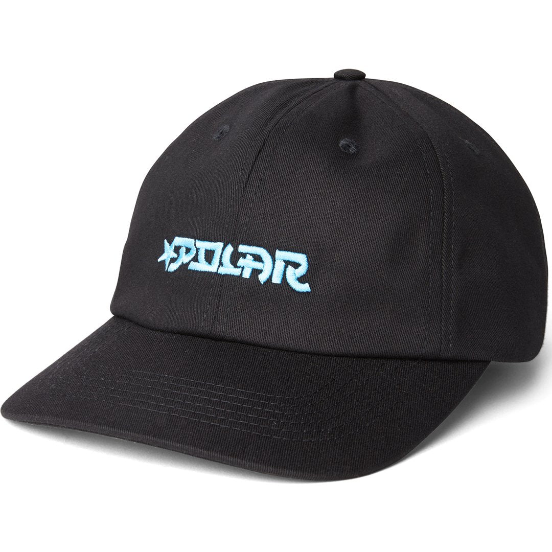 POLAR STAR CAP BLACK 56CM