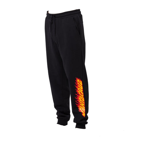 SANTA CRUZ FLAMING FLEECE TRACK PANTS