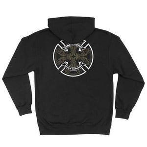 INDEPENDENT CABALLERO ZIP UP HOODIE BLACK