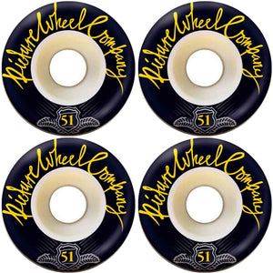 PICTURE WHEEL CO - POP - YELLOW - 51MM