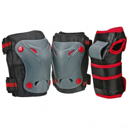RDS Cruiser 3000 Youth Tri Pack: Blk/Grey/Red