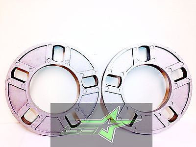 "2 WHEEL SPACERS 1/2"" INCH THICK FITS ALL 5X112, 5X120, 5X130, 5X110, 5X108, 12MM - Set Group USA - 1"