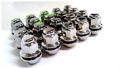 20 TOYOTA MAG LUG NUTS | 12X1.5 | FITS MOST TOYOTA, LEXUS, SCION OEM WHEELS - Set Group USA - 1