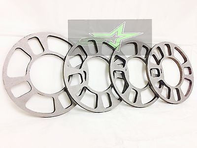 "4x WHEEL SPACERS 8MM 5/16 | FITS 4X98 4X100 4X108 4x110 4X114.3 4X120 4X4.5 1/3"" - Set Group USA - 1"