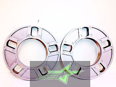 "2 WHEEL SPACERS 12MM OR 1/2"" THICK FITS ALL 5X4.5 