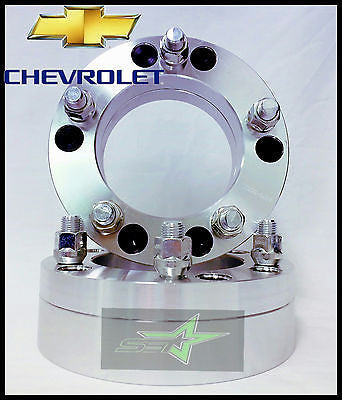 "2 Wheel Adapters 6X5.5 To 5X135 | Use 5 Lug Wheels On 6 Lug Car | 2"" Inch Thick - Set Group USA - 1"