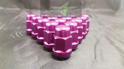 23 JEEP PURPLE LUG NUTS | 1/2-20 | CLOSED END 5X5, 5X4.5, 5X5.5 BULGE ACORN LUGS - Set Group USA - 1