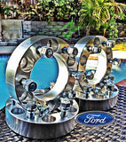 "4 Wheel Spacers Adapters 6X135 1.5"" Inch 