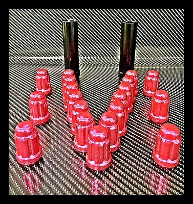 "20 PINK MUSTANG LUG NUTS | RACING 6 SPLINE LUGS | 1/2""-20 