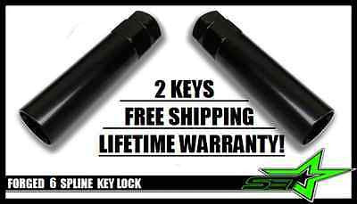 2 PC 6 SPLINE LUG NUT KEY | SECURITY SPLINE TOOL LOCK | FITS GORILLA MUTEKI LUGS - Set Group USA