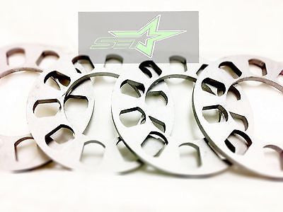4X Wheel Spacers 8Mm Or 5/16 | Fits All 5X100 5X108 5X112 5X114.3 5X115 5X120 - Set Group USA