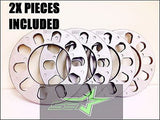 2 WHEEL SPACERS 1/4 INCH THICK 6MM | FITS ALL 6X5.5 OR 6X139.7 | 6 LUG VEHICLES - Set Group USA - 1