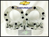 "4 Wheel Adapters 6X5.5 To 5X4.5 | Use 5 Lug Wheels On 6 Lug Car | 2"" Inch Thick - Set Group USA - 1"