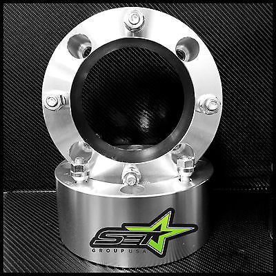 2 WHEEL SPACERS | 4/156 | 3 INCH THICK OR 75MM | Ranger Predator Sportsman RZR - Set Group USA - 1
