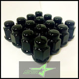 20 Black Lug Nuts 14X1.5 | Mopar Dodge Challenger | Charger | Magnum 5X115 Lugs - Set Group USA - 1