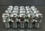 20 LUG NUTS ET CHROME BULGE ACORN 1/2x20 - Set Group USA - 1