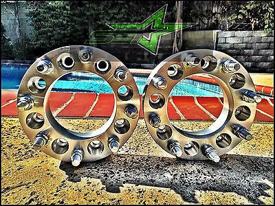 "CHEVROLET SILVERADO 3500 HD GMC SIERRA 3500 HD DUALLY WHEEL SPACERS 2"" INCH USA - Set Group USA - 1"