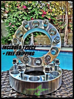"1 Chevy Gmc Cadillac Wheel Spacer | 6X5.5 | 1.5"" Inch (38Mm) 