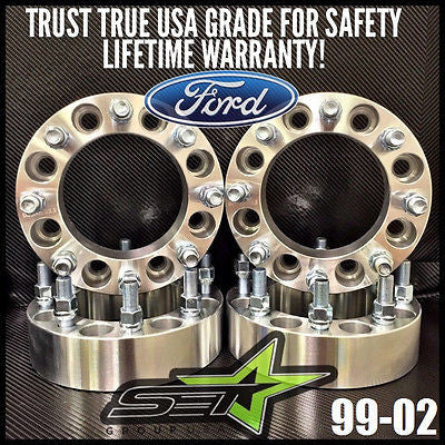 "8X170 Wheel Spacers 2"" Inch (50Mm) 