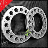 2X 8 Lug Aluminum Wheel Spacers 1/2 Inch Thick 12Mm Fits All 8X6.5 8X170 8X165.1 - Set Group USA - 1