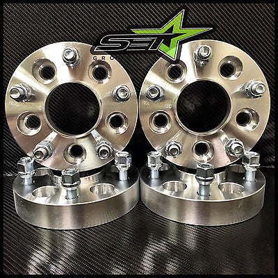 4 WHEEL ADAPTERS 5X4.5 TO 5X5 2 INCH | ADAPTS JEEP JK WHEELS ON TJ YJ HUBCENTRIC - Set Group USA - 1