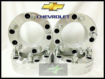 "4 Wheel Adapters 6X5.5 To 5X135 | Use 5 Lug Wheels On 6 Lug Car | 2"" Inch Thick - Set Group USA - 1"