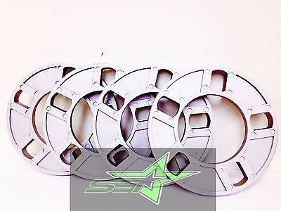 5 LUG 1/2 INCH THICK WHEEL SPACERS -FITS ALL 5X4.5 | 5X4.75 | 5X120 | 5X114.3 - Set Group USA