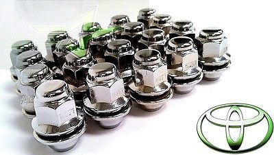 24 Toyota Oem Factory Mag Lug Nuts | 12X1.5 | Fits Lexus Scion Mag Seat Wheels - Set Group USA - 1