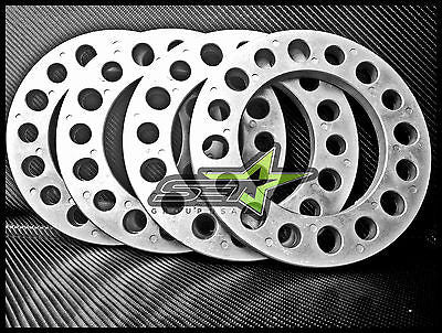 4X 8 Lug Wheel Spacers 8X6.5 1/2 Inch Chevy Silverado 2500 3500 Duramax Sierra - Set Group USA