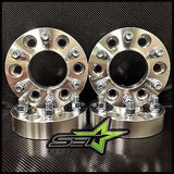 6X135 WHEEL SPACERS 1.25 INCH HUB CENTRIC, FORD F150 EXPEDITION RAPTOR NAVIGATOR - Set Group USA - 1