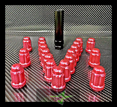 "23 PINK JEEP LUG NUTS | 6 SPLINE TUNER | 1/2""-20 