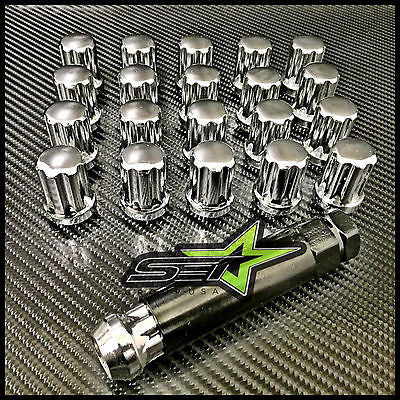 20 Spline Lug Nuts 14X1.5 | Mopar Dodge Challenger | Charger | Magnum 5X115 Lugs - Set Group USA - 1